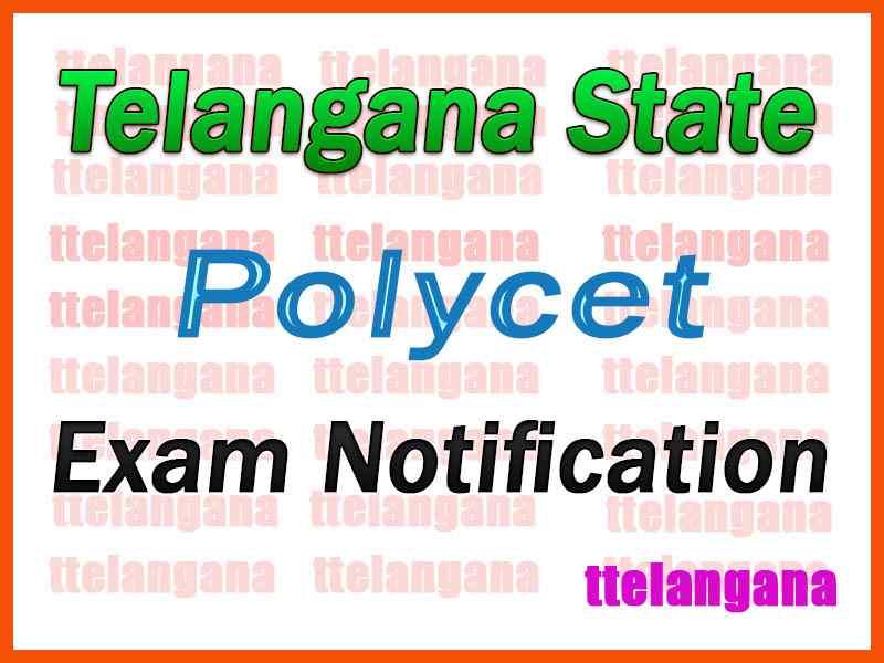 Telangana  Polycet Notification TS POLYCET Notification