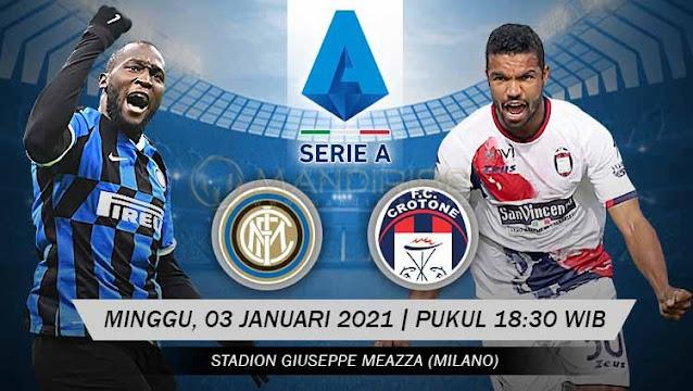 Prediksi Inter Milan Vs Crotone