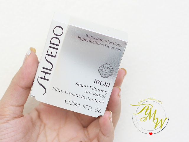a photo of Shiseido Ibuki Smart Filtering Smoother