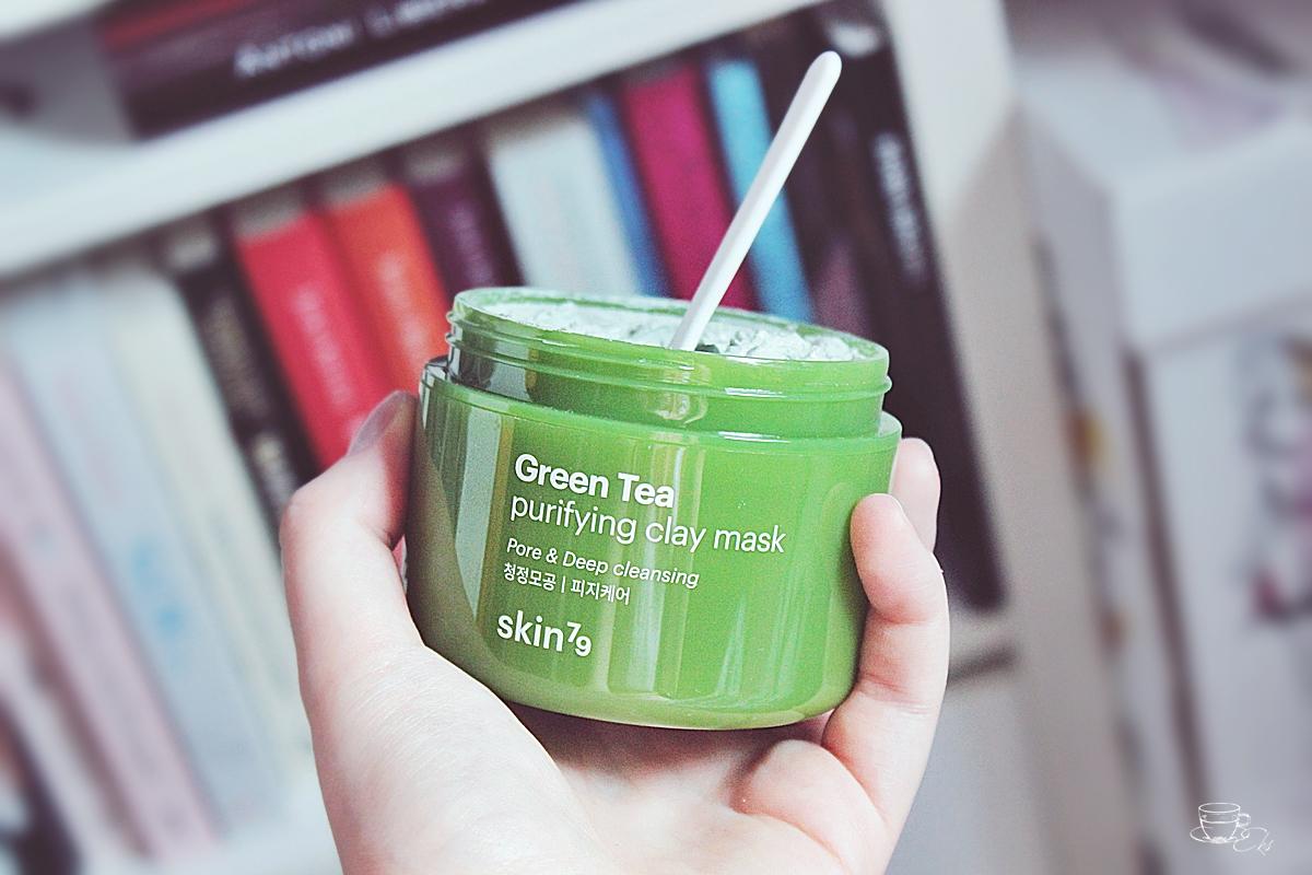 Nowość z zielonej herbaty, glinek i czerwonej fasoli