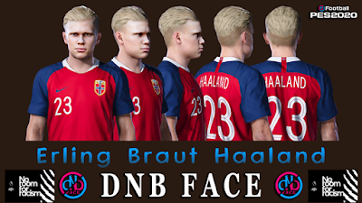 PES 2020 Faces Erling Braut Håland by DNB