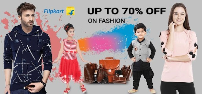 30-80% Off on Flipkart | Get Code | Flipkart deals of the day