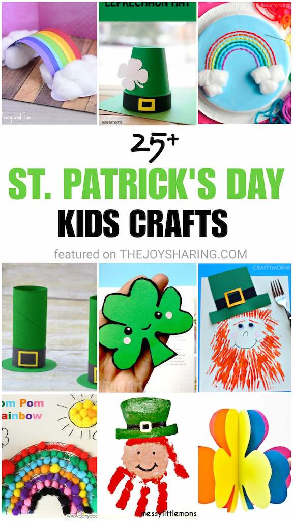 easy st patrick's day crafts and activities for kids