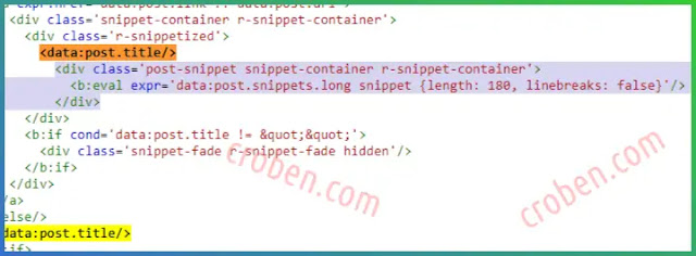 Emporio Post Snippet HTML Step 6