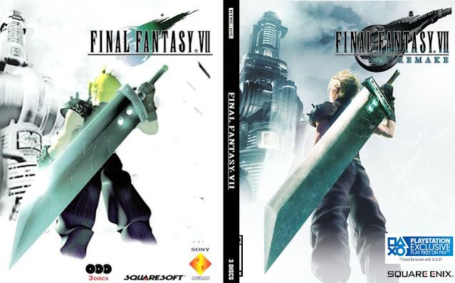 FF7 vs. FF7R