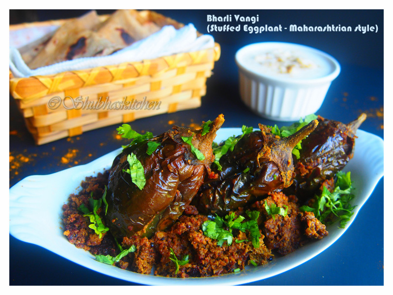 Various Cake Recipes In Marathi: Meri Rasoi: Bharli Vangi / Stuffed Eggplant (Maharashtrian