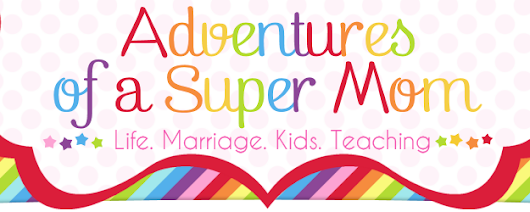 Adventures of a Super Mom: Goal Setting