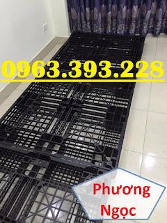 Pallet nhựa cũ, pallet nhựa kê hàng, pallet nhựa nâng hàng đã qua sử dụng 07a47c07e1481a164359