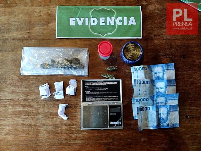 Detienen a un sujeto por microtráfico de drogas