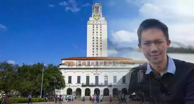 Agus Mutohar, Peraih Beasiswa S-2 University of Texas Austin Amerika Serikat