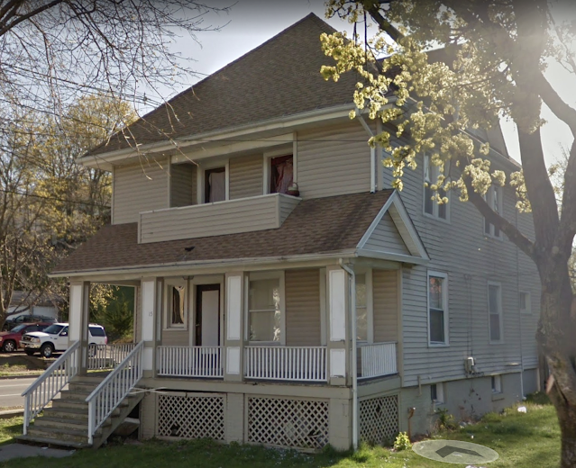 color photo from Google street view of Sears No 163 at 15 Innis Avenue, Poughkeepsie, New York