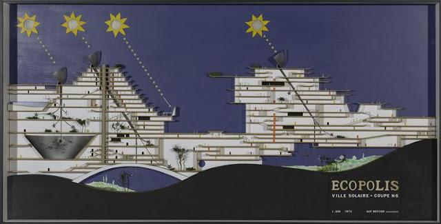 Ville solaire, Guy Rottier Centre Pompidou Grand Palais / Philippe Migeat