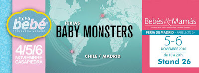 baby monsters ferias Madrid y Chile