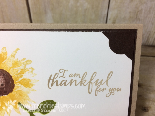 Painted Harvest, Everyday Label Punch. Corner cards, Frenchie Stamps, Stampin'Up!