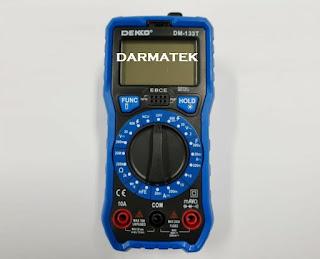 Darmatek Jual DEKKO DM-133T Digital Multimeter + NCV