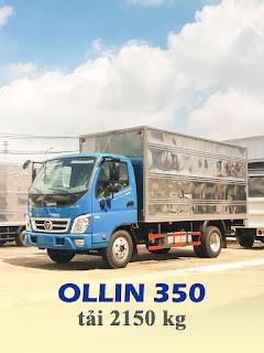 xe tải thaco ollin 350 tải trọng 2,2 tấn