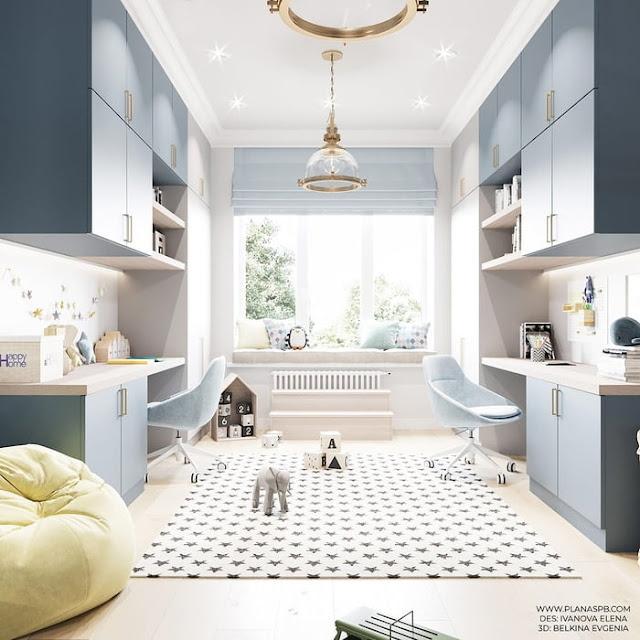 Căn hộ sang chảnh hơn nhờ thiết kế nội thất với gam màu pastel