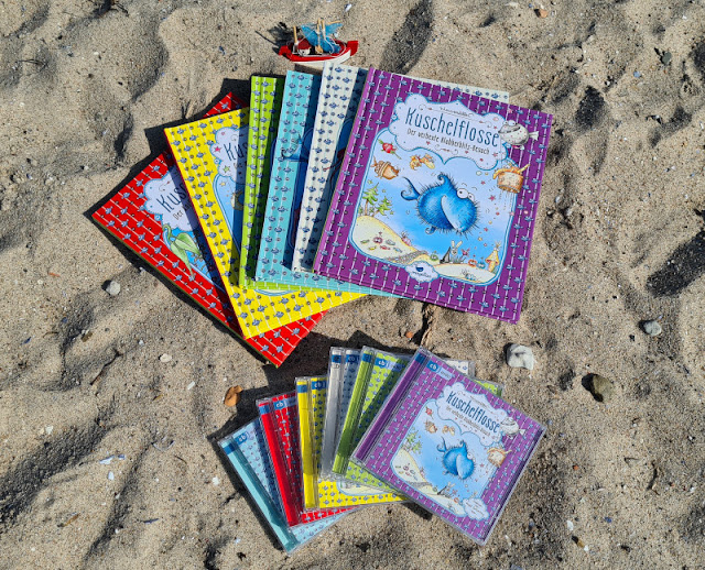 """Ahoi Fischhausen! Die """"Kuschelflosse""""-Kinderbücher und -Hörbücher. Unsere Küstenkinder lesen die Bücher super gerne und auch wir Eltern schätzen das maritime Flair sehr!"""
