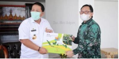 Puslitbangun Dukung Komitmen Gubernur Dalam Pengembangan Lada dan Kopi