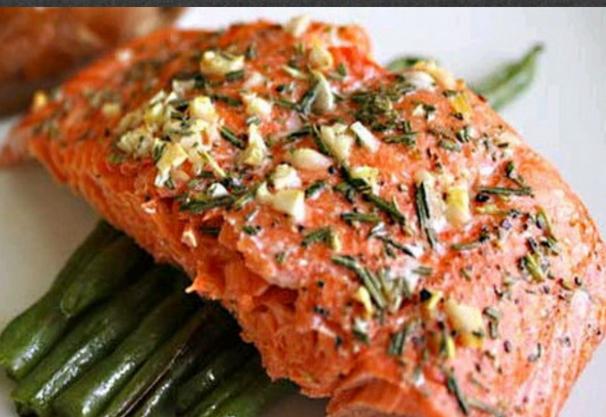 Resepi  Ikan perasa salmon panggang