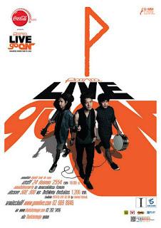บันทึกการแสดงสด POTATO LIVE GO ON Concert
