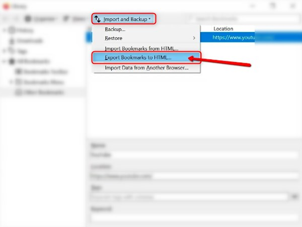 how to export bookmarks from firefox-Export Bookmarks to HTML