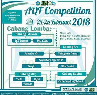 Lomba Al-Qur'an Festival Competition 2018 Untuk Umum by Univ. Lampung