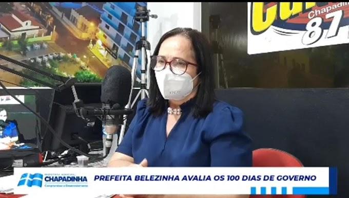 Prefeita Belezinha anuncia asfalto para ruas e avenidas de Chapadinha
