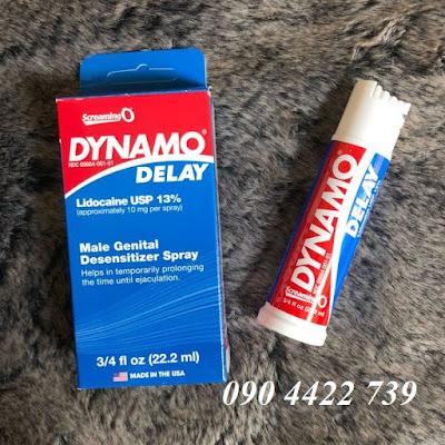 Thuốc xịt chống xuất ra sớm Dynamo delay