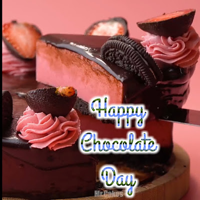Happy Chocolate Day HD wallpaper