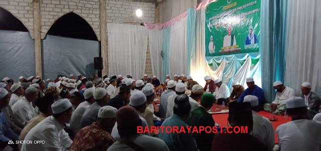 Majlis Ta'lim Jundullah Desa Anjir Pulang Pisau Gelar Peringatan Isra Mi'raj