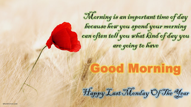 Happy Last Monday Of The Year quotes and message