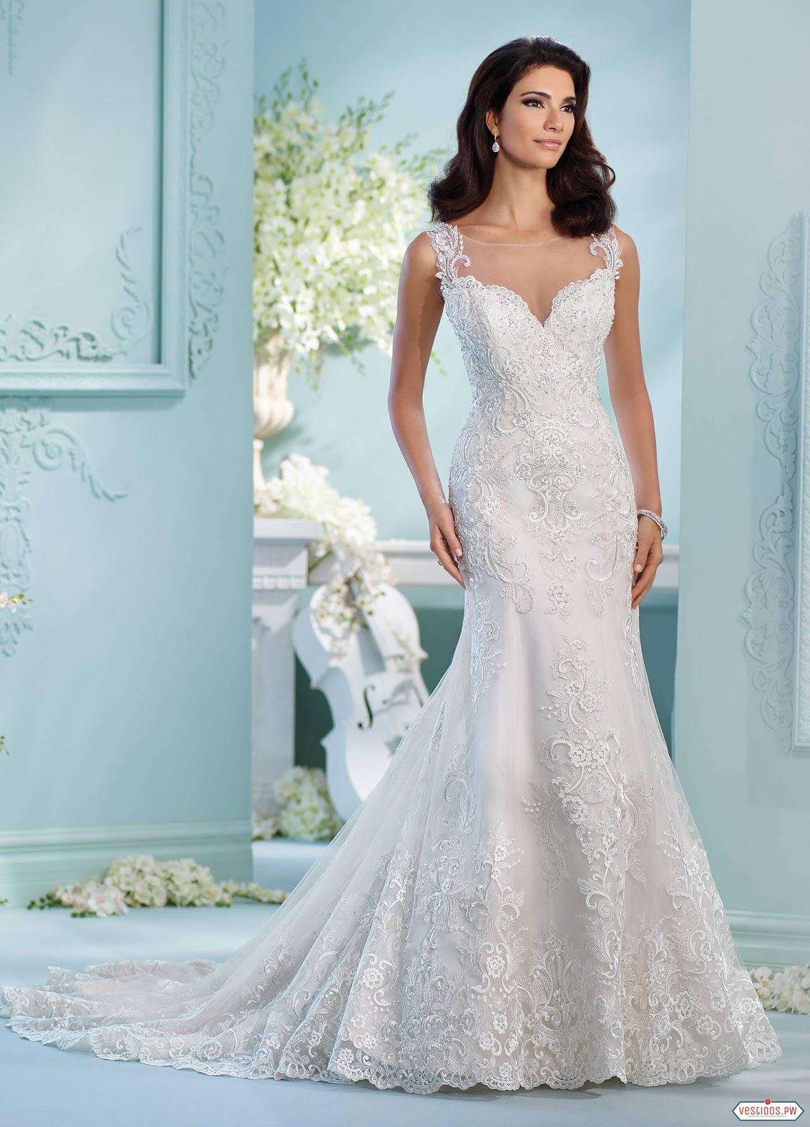 Unique Vestidos De Novia De Encaje Composition - All Wedding Dresses ...