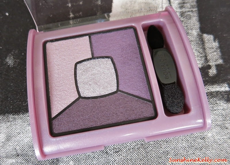 Bourjois Quad Smoky Stories Eyeshadow Palette, Bourjois, Bourjois Eyeshadow, Smoky Eyeshadow Palette, Bourjois Makeup, Bourjois Malaysia