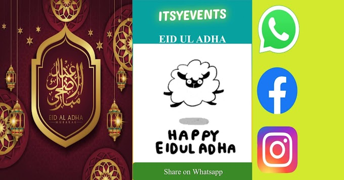 Wish Eid Ul Adha through WhatsApp