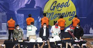 Begini Konstruksi Perkara Benih Lobster Yang Bikin Menteri KKP Edhy Prabowo Masuk Bui