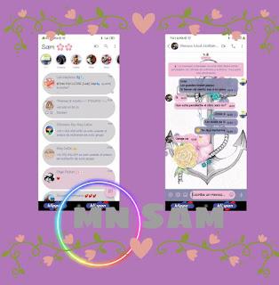 Flowers Theme For YOWhatsApp & Fouad WhatsApp By Samanta