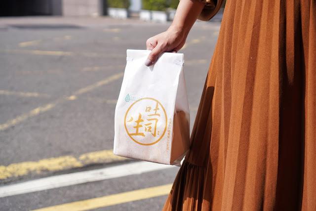 台南永康區美食【傳承烘焙坊】傳承生吐司的保存方式
