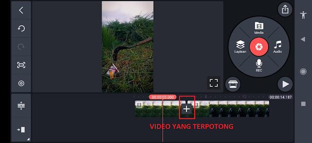 Cara Cut atau Memotong Video Menggunakan Aplikasi Kinemaster