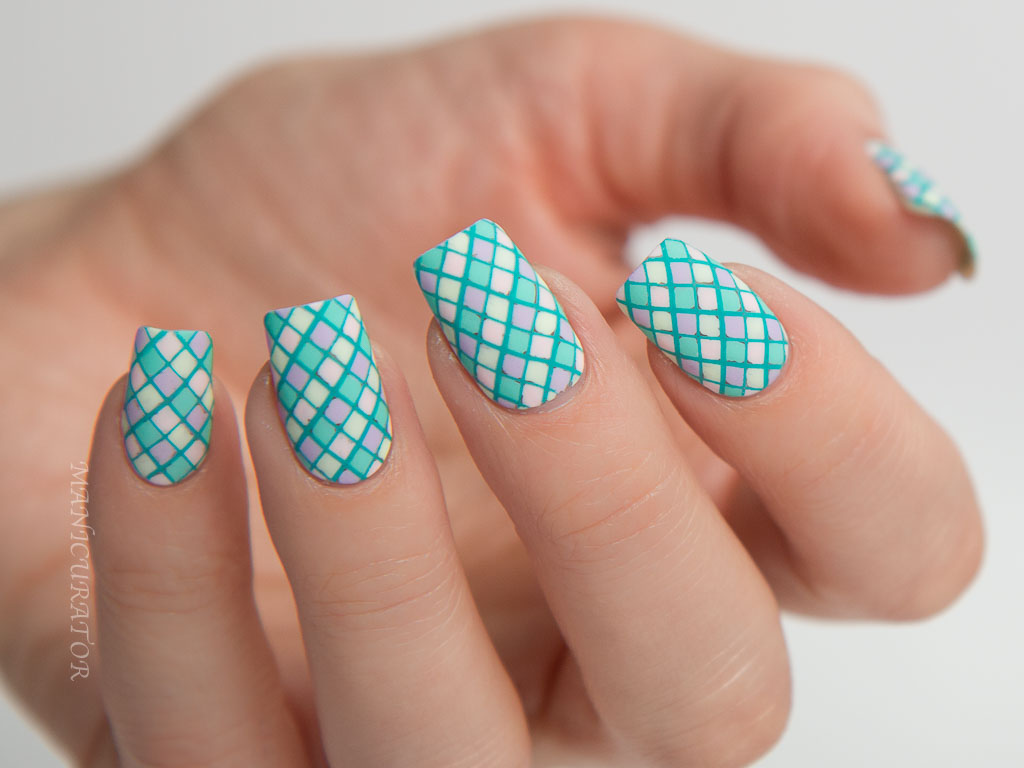 manicurator: Paint All The Nails Presents Pastel Geometric Nail Art ...