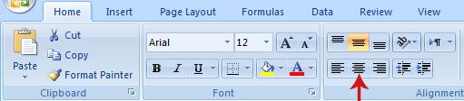 كيفية عمل جدول على Excel