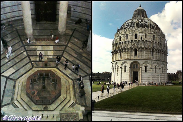 battistero Pisa