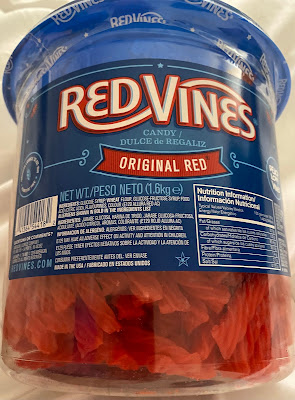 Red Vines Jar from Costco