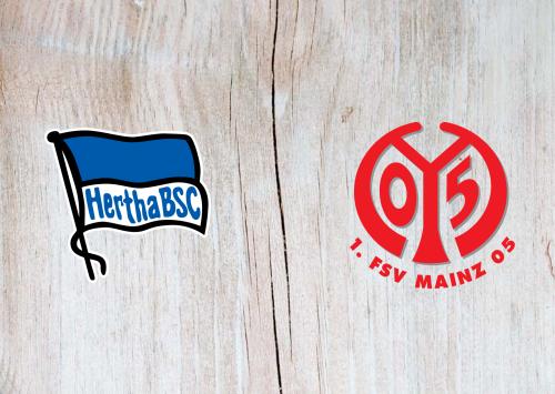Hertha BSC vs Mainz 05 -Highlights 15 December 2020