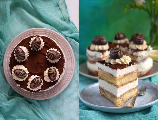 Eierlikör Tiramisu Torte