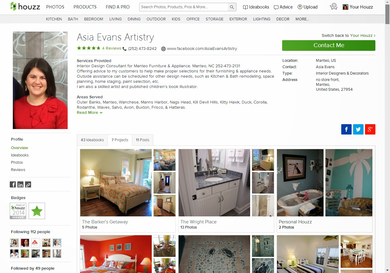 Now Houzz Has Added A New Feature Websites For Professionals Which Is Wonderful Designer Like Me Please Check It Out