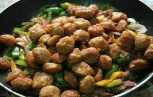 Vegetarian protein foods