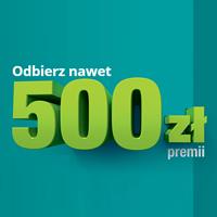 Zyskaj do 500 zł z kontem osobistym w Credit Agricole