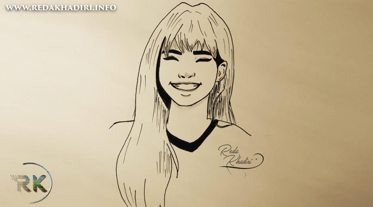 Drawing 41 Comment Dessiner Le Visage D Une Fille Happy Facile Etape Par Etape Redakhadiri Officiel
