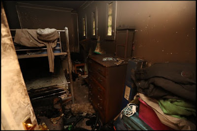 Family House Set Ablaze By A Small Phone Charger (Photos)